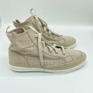 Coach Pita Suede High Top Sneakers Size 9.5